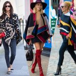 How to Wear the Poncho 2015 Trend