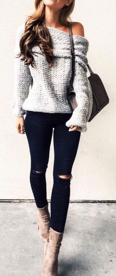 19 Cute and Cozy Oversized Sweater Outfits – Society19