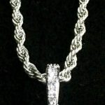 🎁🎄!!!!! LAST MINUTE CHRISTMAS PRESENT !!!!! 🎁🎄 GET IT TODAY!! ANKH FULL DIAMONDS CZ 18K GOLD ROPE CHAIN MADE IN ITALY