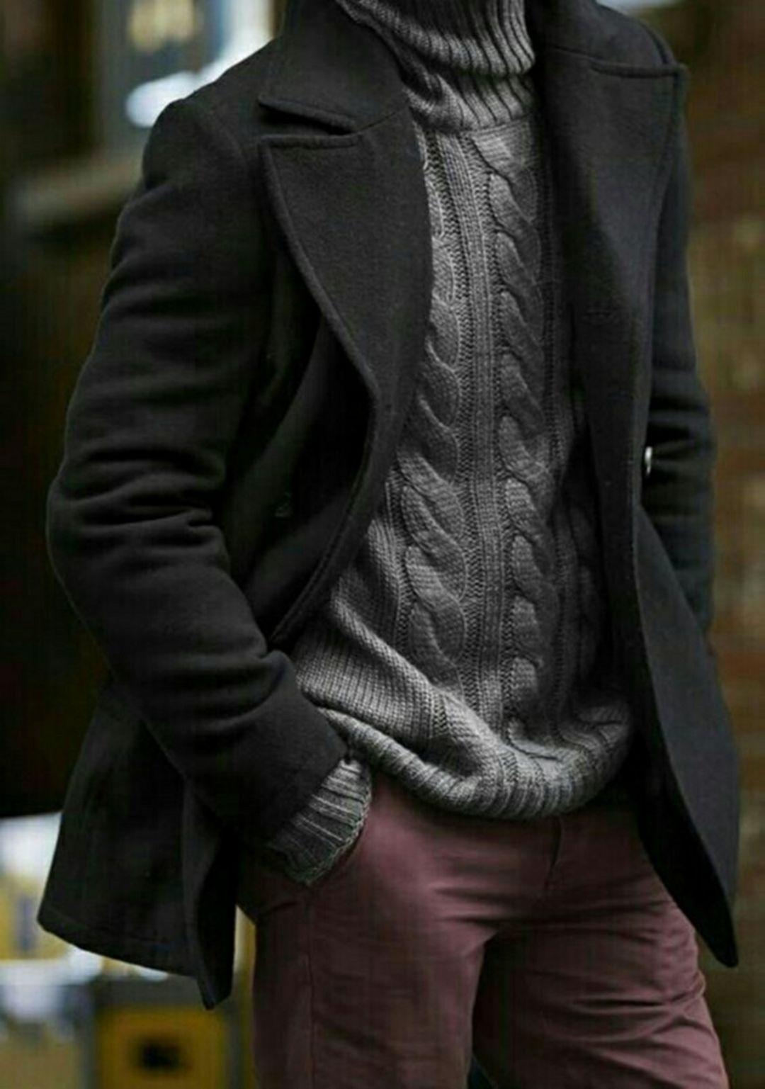 30+ Best Turtleneck Shirt Ideas For Men Look More Handsome