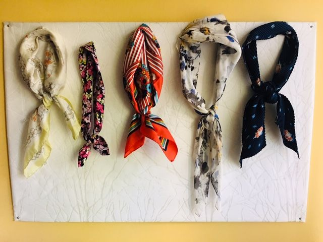 Styling Outfits with Neck Scarves