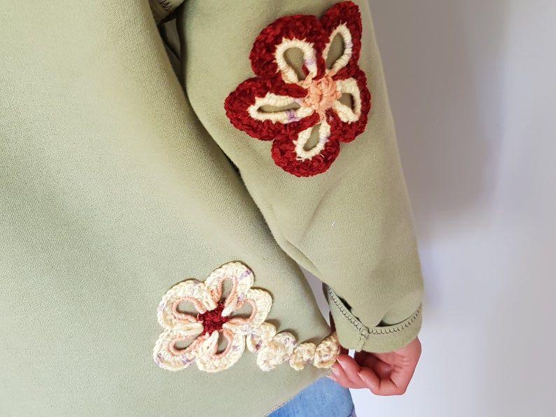 Shirtdress for women Recycled shirt Upcycled sweatshirt tunic Upcycle tunic dress Plus size clothing Plus size womens clothes Patchwork boho
