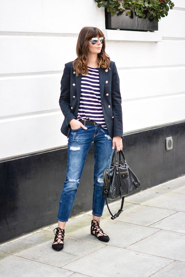 14 Ways to Rock Lace-Up Flats like a Boss