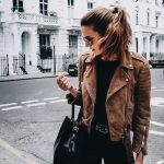 39 Stylish Brown Leather Jacket Outfits Ideas To Makes You Look Fashionable - TILEPENDANT