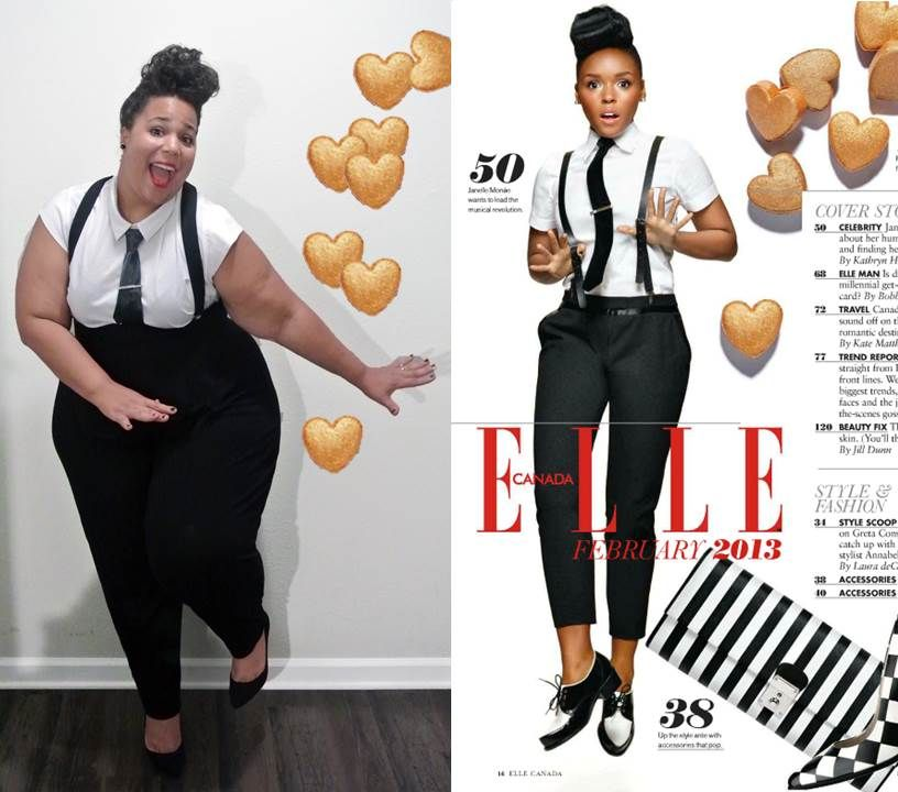 GarnerStyle | The Curvy Girl Guide: Celebrity Style Capture: Janelle Monae