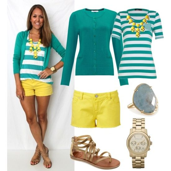Cute Outfit Ideas #8 Featuring the Color Yellow