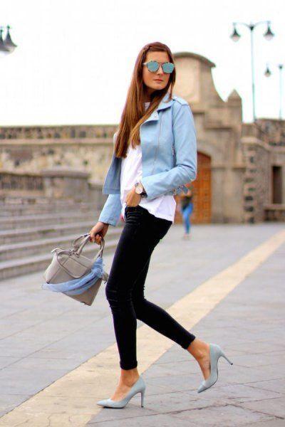 How to Wear Light Blue Blazer: Top 13 Outfit Ideas for Women – FMag.com