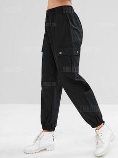 Casual Pocket Cargo Jogger Pants