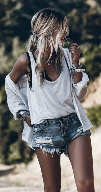 45 Cool And Casual Summer Outfits Ideas