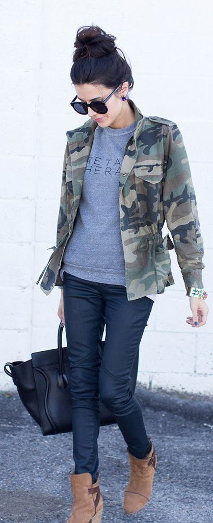 Military Fashion Trend Report – Yeah, We Would Wear It