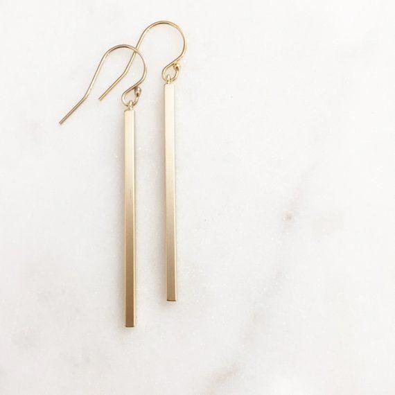 SOLID 14K Gold Hammered Hoops, large gold hoop earrings, hammered hoop earrings, thin 14k gold hoop earrings, 2 inch hoop earrings, 14k gold