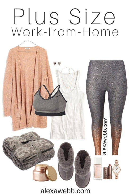 Plus Size Work-From-Home Outfit