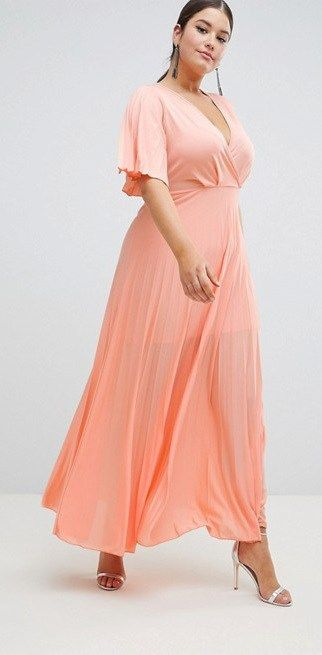 30 Plus Size Summer Wedding Guest Dresses {with Sleeves
