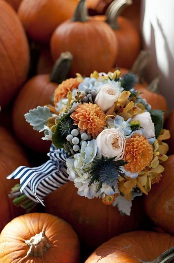 30 Fall Wedding Bouquets