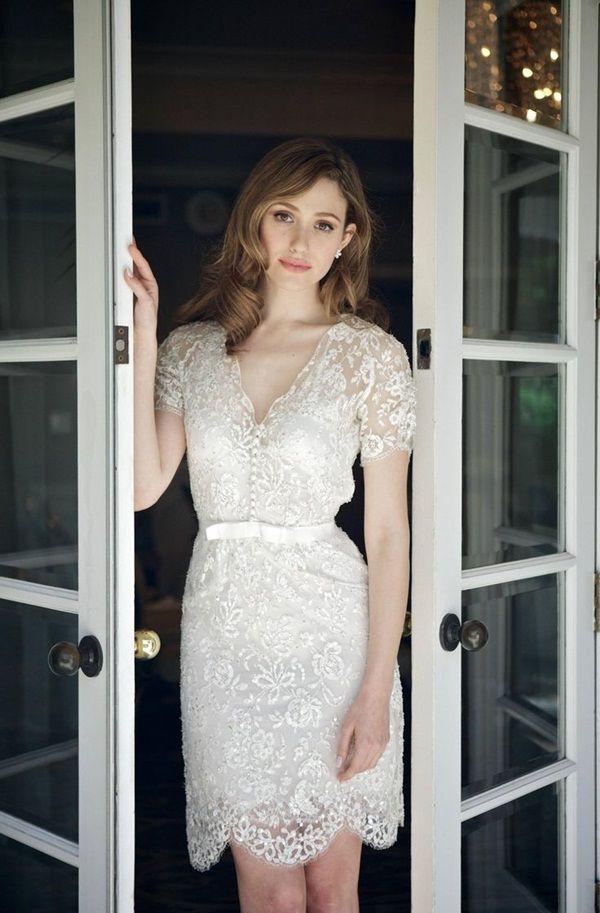 40 Beautiful Short Wedding Dresses For Girls