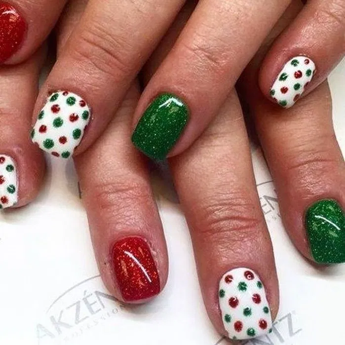 159 christmas nail art ideas for early – page 23 ~ bloganisa.online