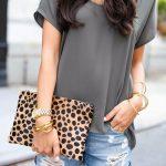 16 Ways To Wear Denim Cutoff Shorts #denimcutoffshorts 16 Ways To Wear Denim Cut...
