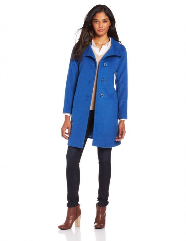 18 Stylish Color Coat Designs for Fall
