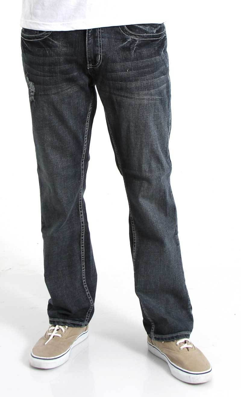 1897 Men's Straight Leg Jeans in Silver Haze