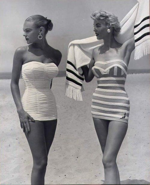 1950s swimwear…I remember how great my mom & aunties looked in these……amaz…