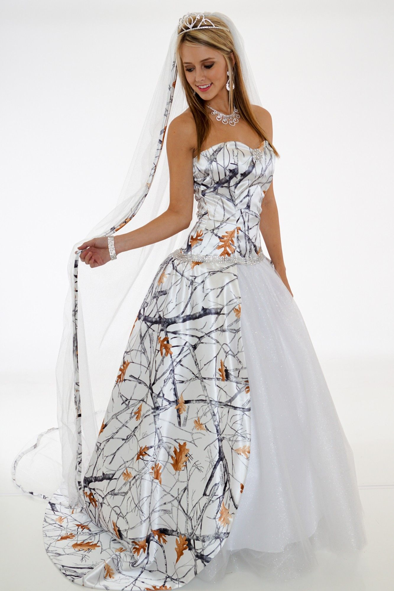 20 Camo Wedding Dresses Ideas You Must Love