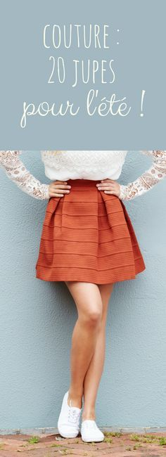20 models of sewing skirts for the summer!  #models #sewing #skirts #summer
