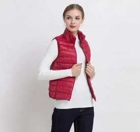 2018 New Women Vests Winter Ultra Light White Duck Down Vest Female Slim Sleeveless Jacket Women's Windproof Warm Waistcoat
