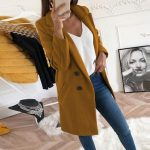 2019 new Overcoats 2019 Autumn Winter Long Sleeve Lapel sweater Women Plus Size XXXL Casual Oversize Outwear Jackets Coat -85