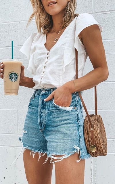 21 Cute Pinterest Jeans Shorts for Women