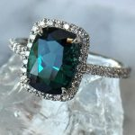 21 Gemstone Engagement Rings For A Unique Woman