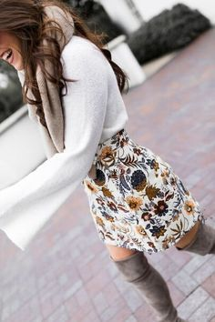 25 Fall Outfits med kjolar för att inspirera din Fall Look – worldefashion.com/topp