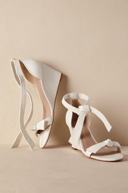25 Pairs of Wedges to Wear on Your Wedding Day