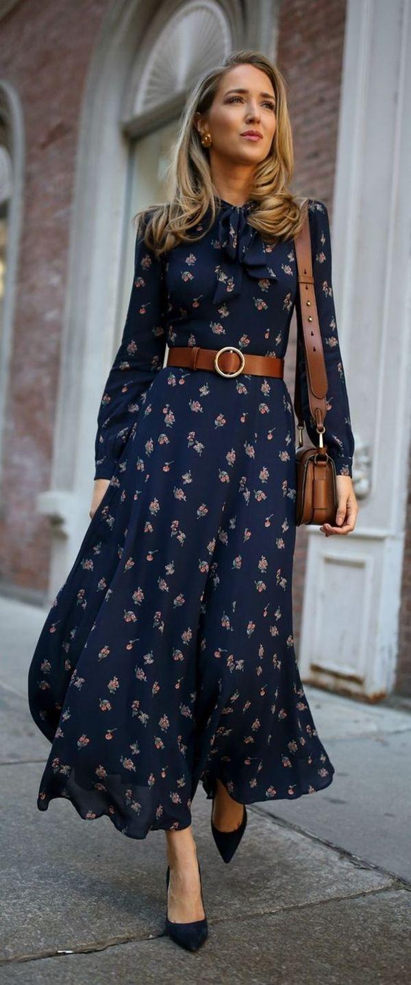 25 Ways to Wear Maxi Dress in Winter