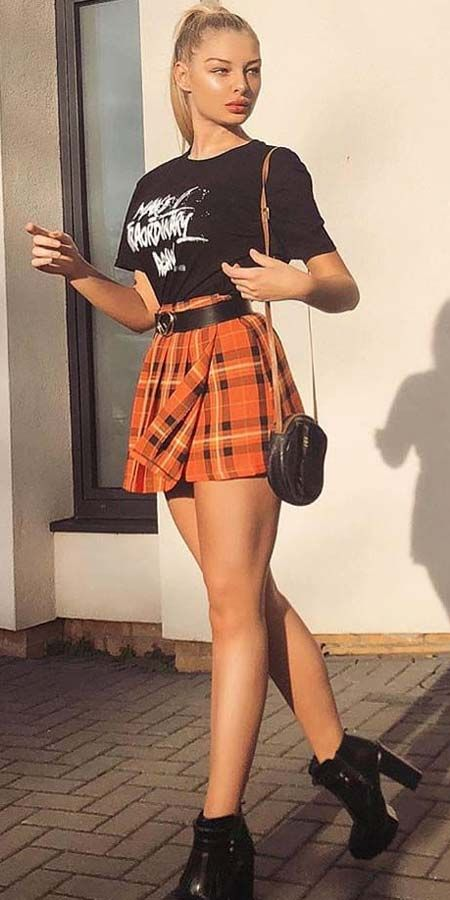 27 Cutest Outfit Ideas with Mini Skirt – Hi Giggle!