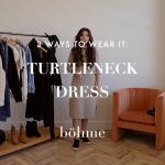 3 Ways To Wear It: Sweater Dress