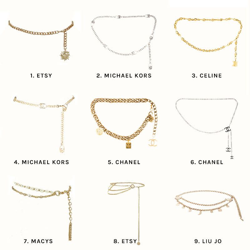 3 Ways To Wear The Gold Chain Belt Trend | Song of Style