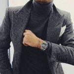 30+ Best Turtleneck Shirt Ideas For Men Look More Handsome