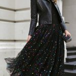 30 Dresses in 30 Days | Day 29: Birthday Party // Black metallic polka-dot tulle...