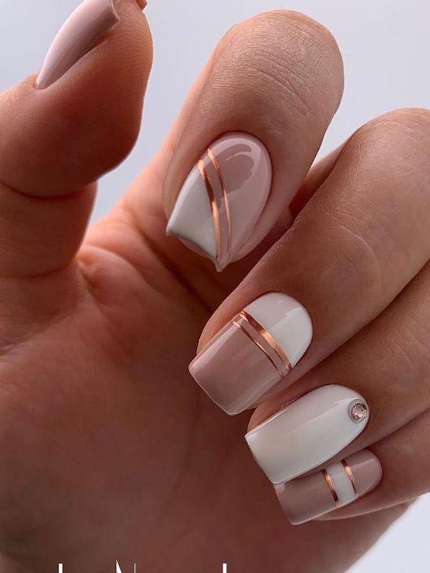 30 Süße und natürliche Short Square Nails Design-Ideen für Sommernägel – – Nägel