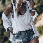 30+ Trendy Spring Outfits, die dich verzaubern werden - Sommer Mode Ideen