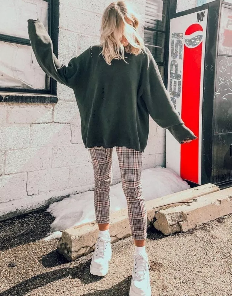 31+ grey legging outfit ideas you need to try 31