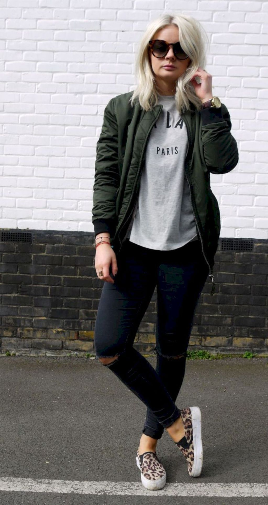 36 Stylish Women Bomber Jacket Ideas