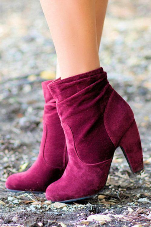 37 Velvet Suede Boots For Teens