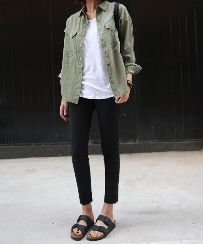 37 Ways To Style Cropped Black Pants