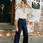 38 Lovely Wide Leg Cropped Jeans Ideas For Women