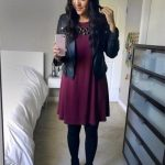 40 Ideas dress black tights ankle boots