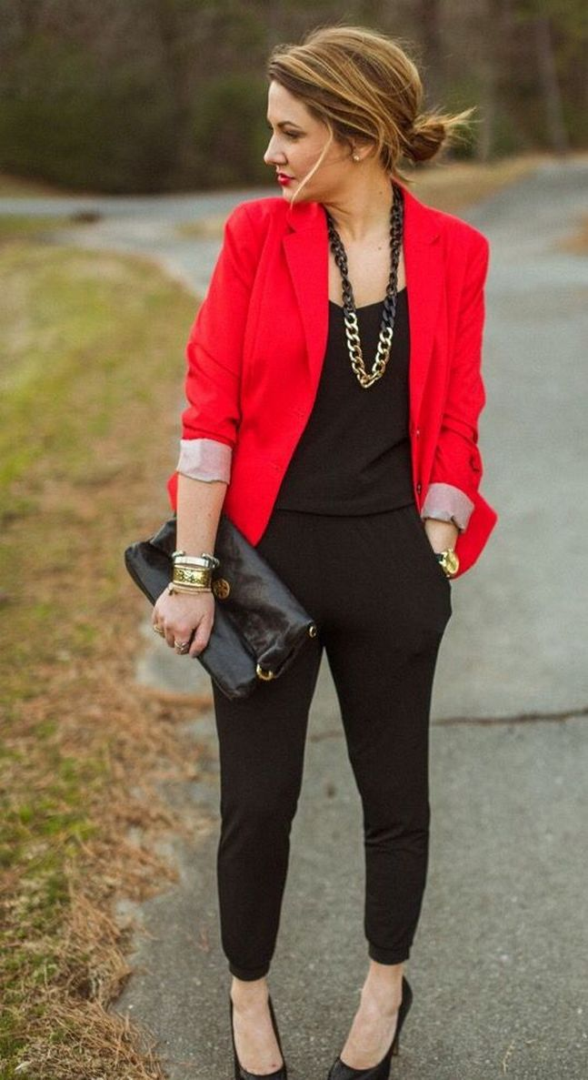 40+ Ways to Completely Revamp Your Womens red blazer jackets ideas