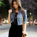 41 Coolest Ways to Wear Denim Jacket Ideas for Women to Try This Summer - fashionetmag.com