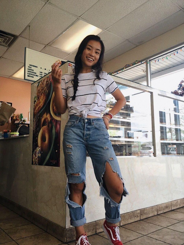 44 Magnificient Summer Jeans Outfits Ideas