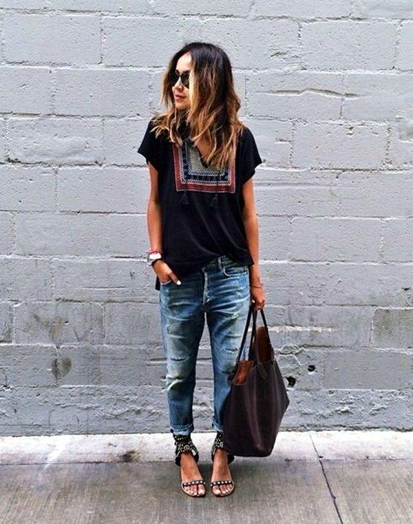 45 Fashion-Forward Boyfriend Jeans Outfits Ideas